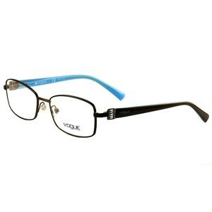 Vogue Oval Style Brown/Blue Frame